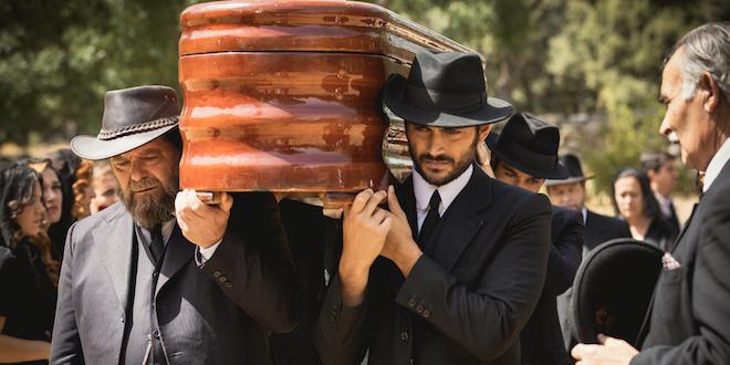 Mauricio e Saul / Il segreto (foto MEDIASET e ATRESMEDIA CORPORACION DE MEDIOS DE COMUNICACION S.A.)