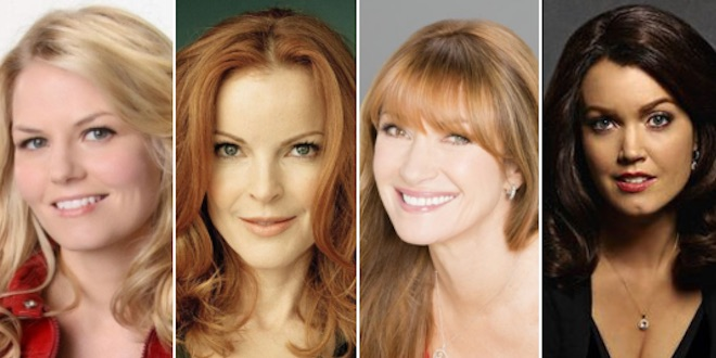 Jennifer Morrison, Marcia Cross, Jane Seymour, Bellamy Young