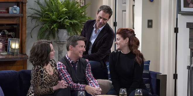 Will & Grace / Foto copyright: Mediaset e Chris Haston / NBC