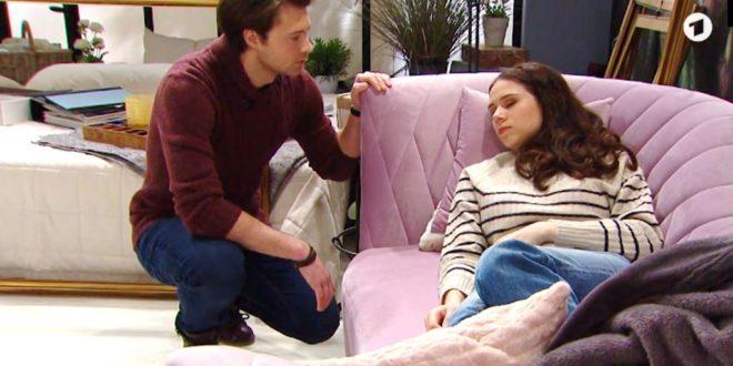 Joshua e Denise, Tempesta d'amore (Screenshot)