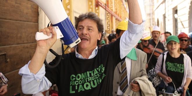 L'attore Giorgio Tirabassi / L'Aquila grandi speranze