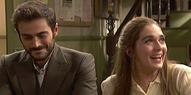 Il Segreto, anticipazioni: JULIETA e SAUL ricevono in dono una casa. Da chi?