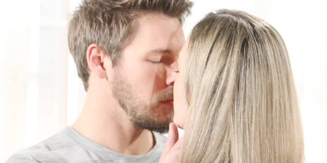 Scott Clifton e Annika Noelle (Liam e Hope di Beautiful) / Foto Mediaset e BBL Distribution