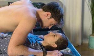Joshua e Denise innamorati, Tempesta d'amore © ARD Christof Arnold