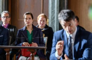 Robert accusa Christoph in tribunale, Tempesta d'amore © ARD Christof Arnold