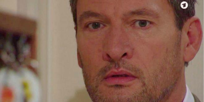 Christoph scopre che Annabelle non è sua figlia, Tempesta d'amore © ARD (Screenshot)