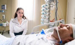 Denise e Christoph in coma, Tempesta d'amore © ARD Christof Arnold