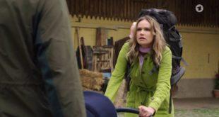 Henry impedisce a Jessica di rapire Luna, Tempesta d'amore © ARD (Screenshot)