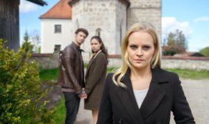 Joshua, Denise e Annabelle, Tempesta d'amore © ARD Christof Arnold
