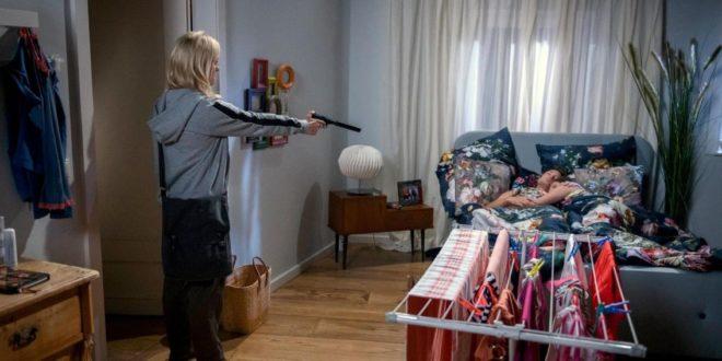 Annabelle vuole sparare a Denise e Joshua, Tempesta d'amore © ARD Christof Arnold
