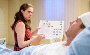 Denise e Christoph in ospedale, Tempesta d'amore © ARD Christof Arnold