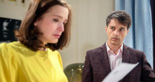 Eva e Robert leggono l'esito del test del DNA, Tempesta d'amore © ARD Christof Arnold