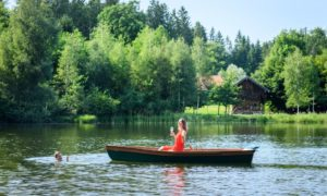 Henry e Jessica al lago, Tempesta d'amore © ARD Christof Arnold
