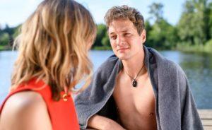 Jessica e Henry al lago, Tempesta d'amore © ARD Christof Arnold