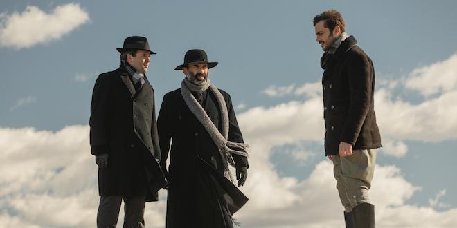 Carmelo, Don Berengario e Saul de Il segreto / Foto di ATRESMEDIA