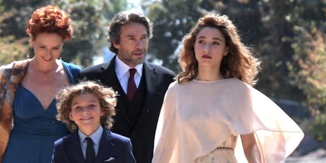 Cast LA STRADA DI CASA / fiction Rai