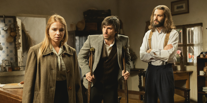 ANTOLINA, JUANOTE e ISAAC de Il segreto / Foto ATRESMEDIA
