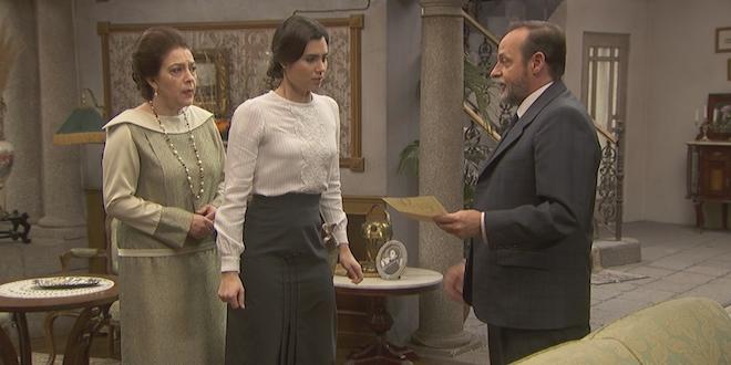 Francisca, Maria e Raimundo de Il segreto / Foto ATRESMEDIA