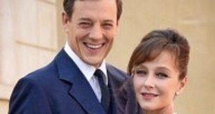 LUCIANO e SILVIA CATTANEO (gli attori Giorgio Lupano e Marta Richeldi) de Il paradiso delle signore / Foto da Instagram