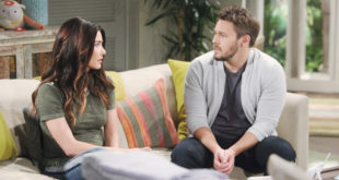 STEFFY e LIAM di Beautiful / Foto CBS - JPI Studios