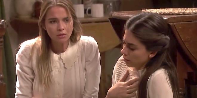ANTOLINA ed ELSA / Il segreto