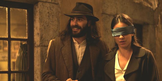 ISAAC ed ELSA de Il segreto / Foto di ATRESMEDIA CORPORACION DE MEDIOS DE COMUNICACION S.A.