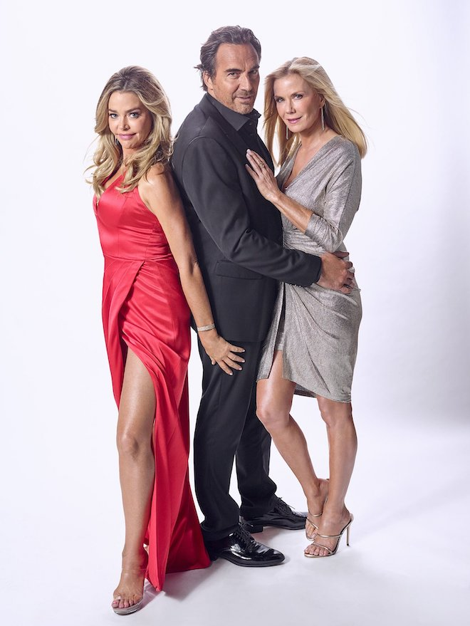 Shauna, Ridge e Brooke di Beautiful