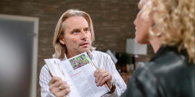 Michael capisce che Romy è stata avvelenata, Tempesta d'amore © ARD Christof Arnold