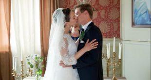 Tina e Ragnar si sposano, Tempesta d'amore © ARD Christof Arnold