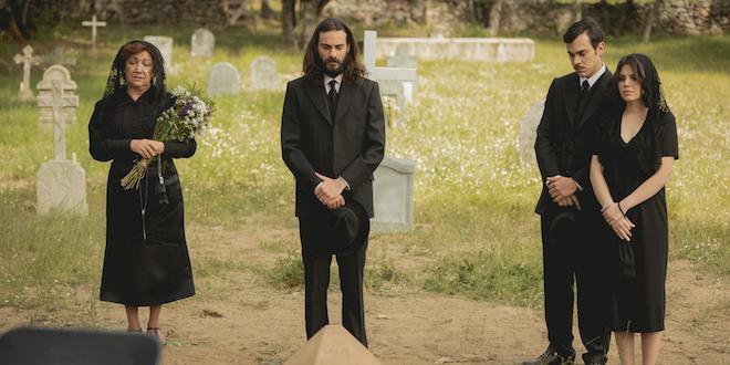 Funerale Antolina / Il segreto (Foto di: ATRESMEDIA CORPORACION DE MEDIOS DE COMUNICACION S.A.)
