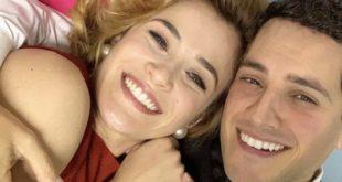 SALVATORE e GABRIELLA de Il paradiso delle signore / Foto dal profilo Instagram di Emanuel Caserio
