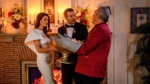 Andre interrompe la prima notte di nozze di Nadja e Tim, Tempesta d'amore © ARD/Christof Arnold