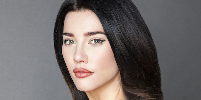 Jacqueline MacInnes Wood è Steffy Forrester / Credits: Gilles Toucas / Bell Phillip TV Productions