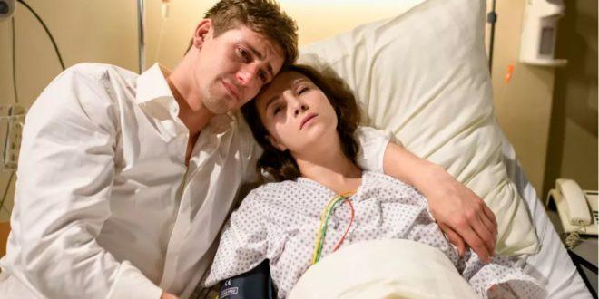 Paul e Romy in ospedale, Tempesta d'amore © ARD Christof Arnold 2