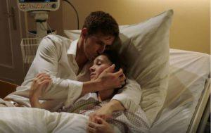 Paul e Romy in ospedale, Tempesta d'amore © ARD Christof Arnold
