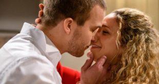 Tim e Franzi si baciano, Tempesta d'amore © ARD/Christof Arnold