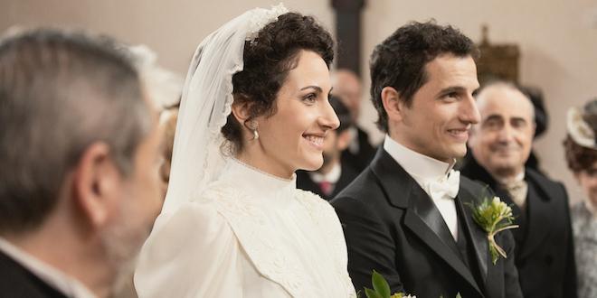 Le nozze di Antonito e Lolita a Una vita / Foto di Mediaset e Boomerang Tv