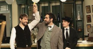 Tito, Inigo e Leonor di Una vita / Foto di MEDIASET e BOOMERANG TV