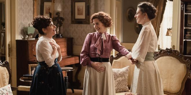 Trini, Celia e Lucia di Una vita / Foto di Mediaset e Boomerang tv
