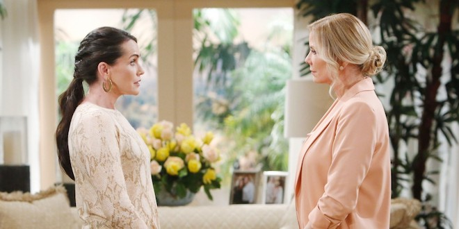 Quinn e Brooke di Beautiful / Foto CBS - JPI Studios