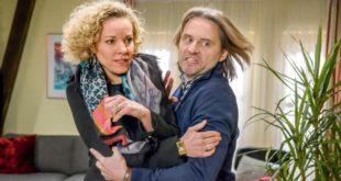 Natascha viene aggredita da Michael, Tempesta d'amore © ARD Christof Arnold