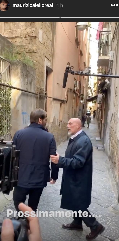Alberto e Mariano di Un posto al sole (da Instagram)