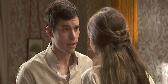 Carolina e Pablo de Il segreto