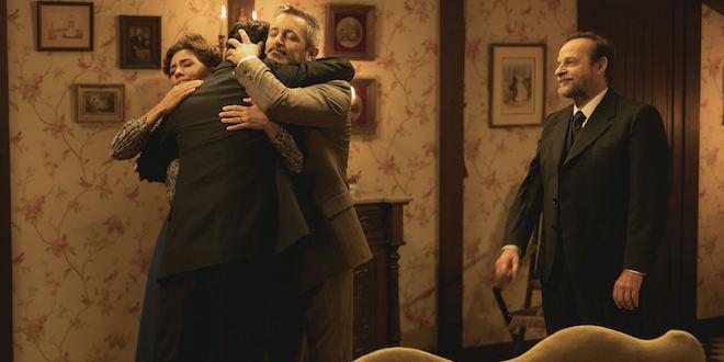 EMILIA, ALFONSO e RAIMUNDO de Il segreto / Credits Mediaset e ATRESMEDIA