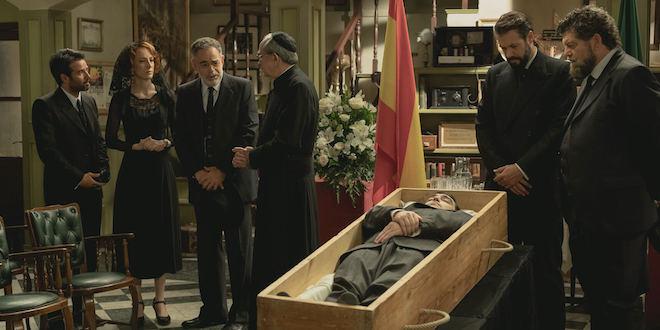 Funerale di MELITON a Il segreto
