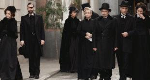 Il funerale di TRINI a Una vita / Credits Mediaset e BOOMERANG TV