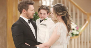 Liam, Douglas e Hope / Beautiful (credits CBS - JPI Studios)