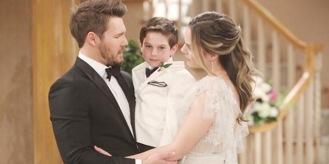 Liam, Douglas e Hope / Beautiful (credits CBS - JPI Studios)