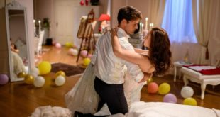 Joshua e Denise festeggiano la prima notte di nozze, Tempesta d'amore © ARD Christof Arnold