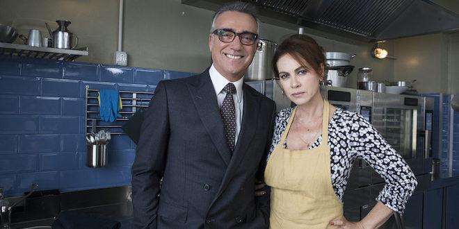Massimo Ghini ed Elena Sofia Ricci / Vivi e lascia vivere